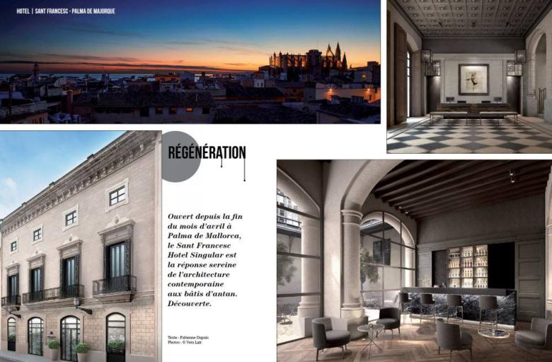 Design hotel sant francesc palma de mallorca for Design hotel mallorca
