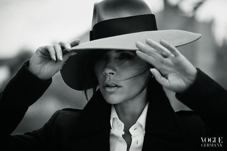Victoria Beckham poses for Vogue Germany November issue 2015