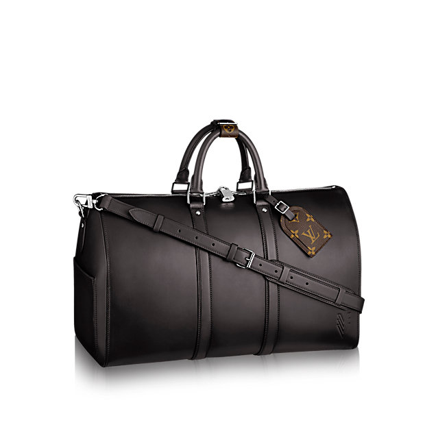 louis vuitton keepall bandoulicare  travel m pm front view
