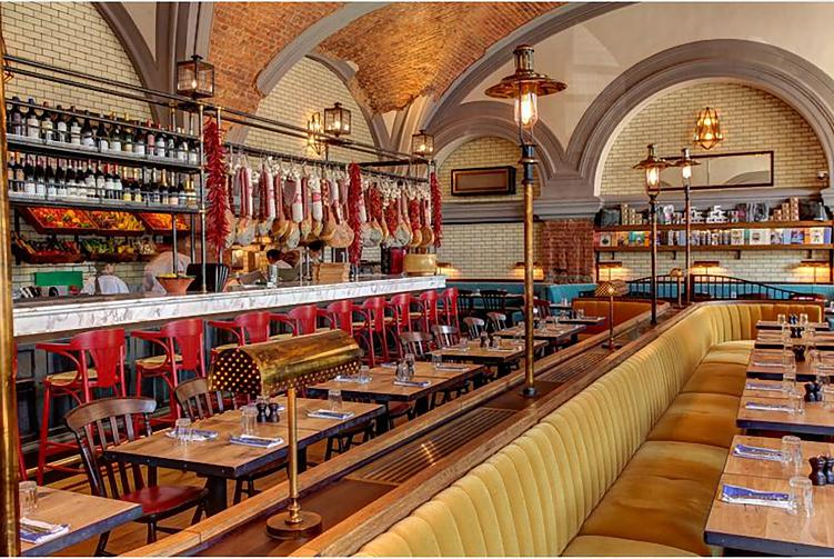 Jamie Oliver restaurant St.Petersburg