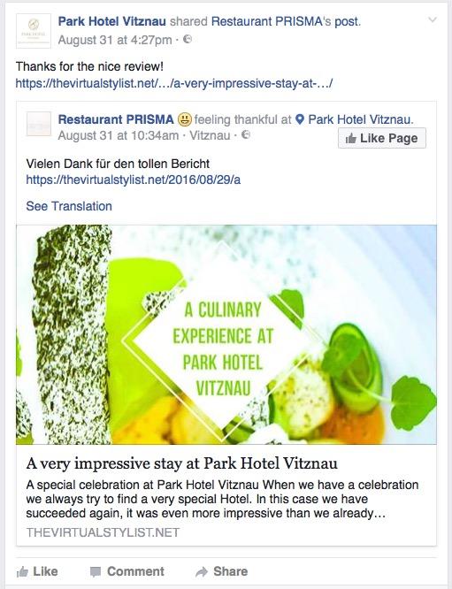 facebook park hotel vitznau